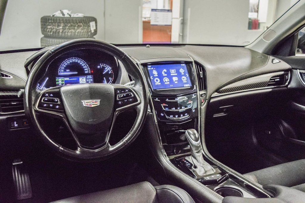 2017 Cadillac ATS 2.0L Turbo Luxury SPORT ** GPS ** CAMERA ** in Dollard-des-Ormeaux, Quebec - 10 - w1024h768px