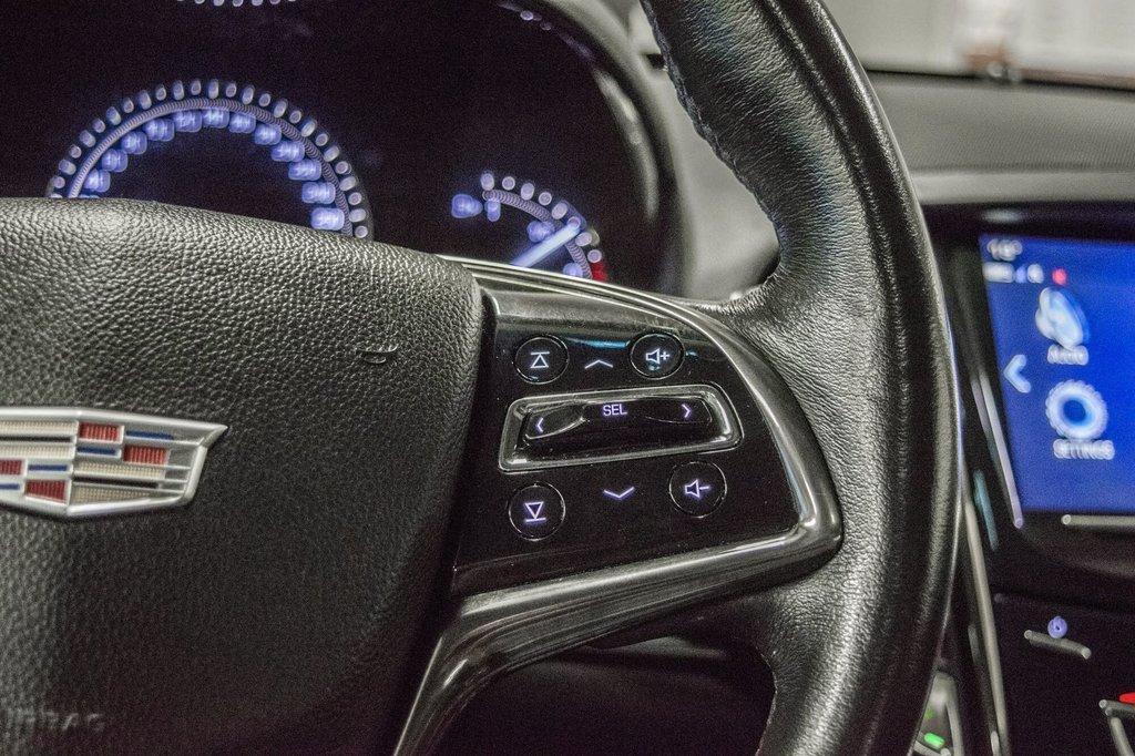 2017 Cadillac ATS 2.0L Turbo Luxury SPORT ** GPS ** CAMERA ** in Dollard-des-Ormeaux, Quebec - 15 - w1024h768px