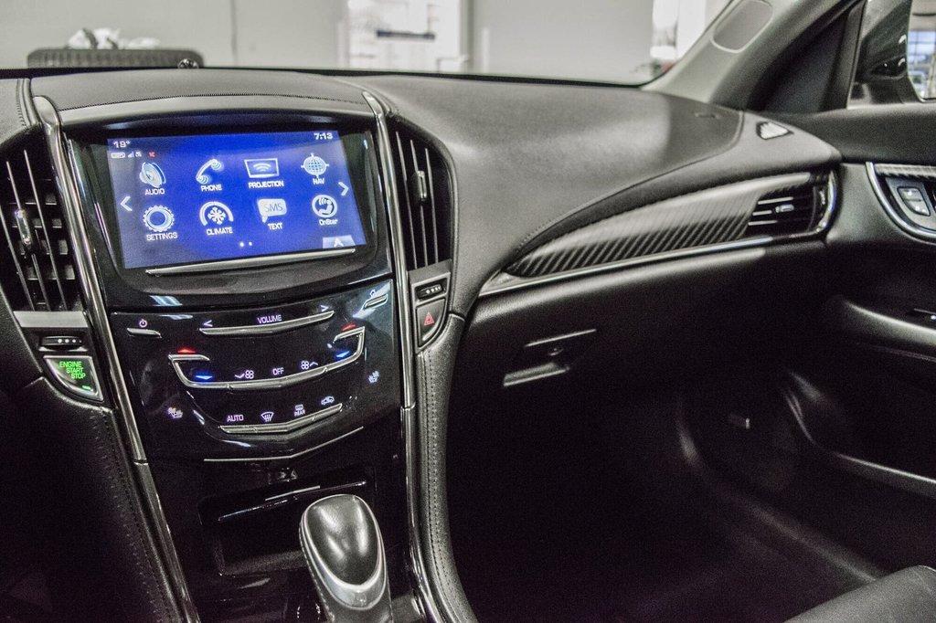 2017 Cadillac ATS 2.0L Turbo Luxury SPORT ** GPS ** CAMERA ** in Dollard-des-Ormeaux, Quebec - 23 - w1024h768px