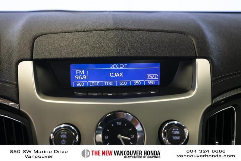 2011 Cadillac CTS Sedan 3.0L SIDI in Vancouver, British Columbia - 41 - w1024h768px
