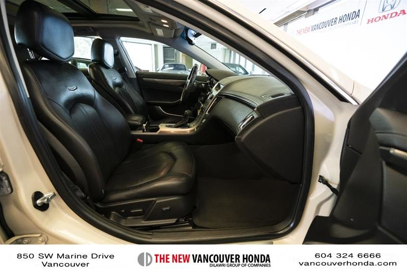 2011 Cadillac CTS Sedan 3.0L SIDI in Vancouver, British Columbia - 17 - w1024h768px