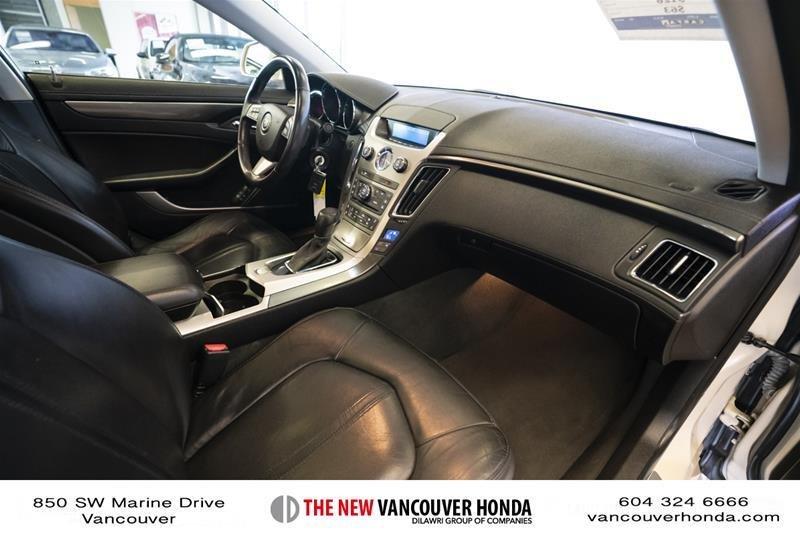 2011 Cadillac CTS Sedan 3.0L SIDI in Vancouver, British Columbia - 37 - w1024h768px