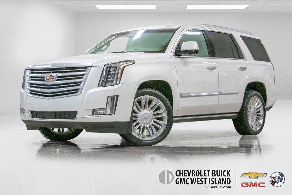 2016 Cadillac Escalade Platinum **DVD ** GPS ** CAMERA ** in Dollard-des-Ormeaux, Quebec - 1 - w1024h768px