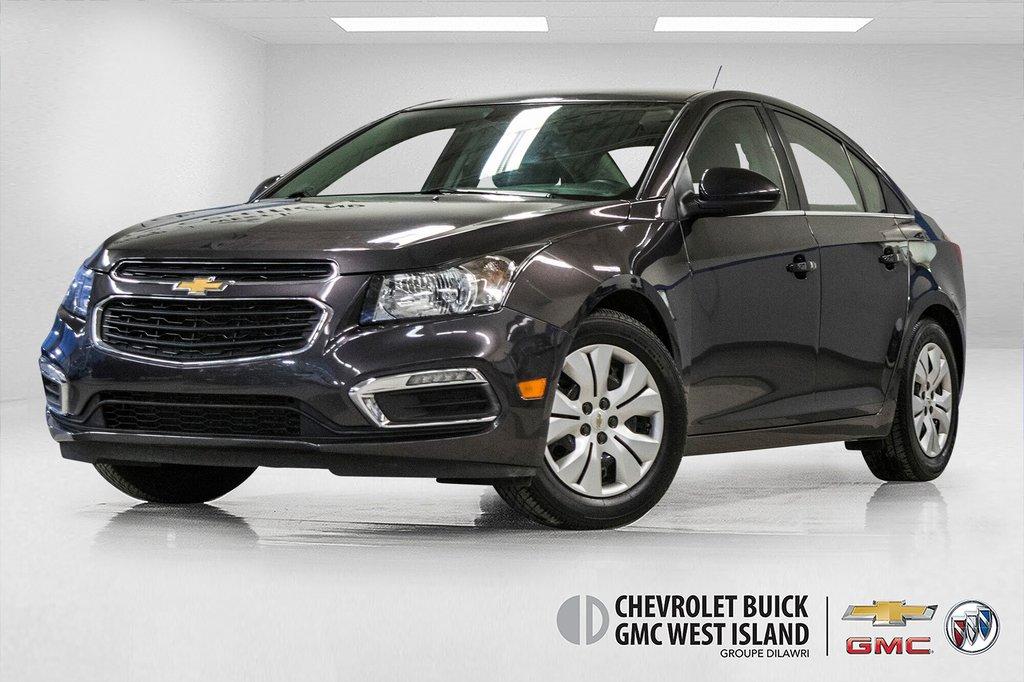 2015 Chevrolet Cruze LT  **GROUPE ELECTRIQUE ** CAMERA ** in Dollard-des-Ormeaux, Quebec - 1 - w1024h768px