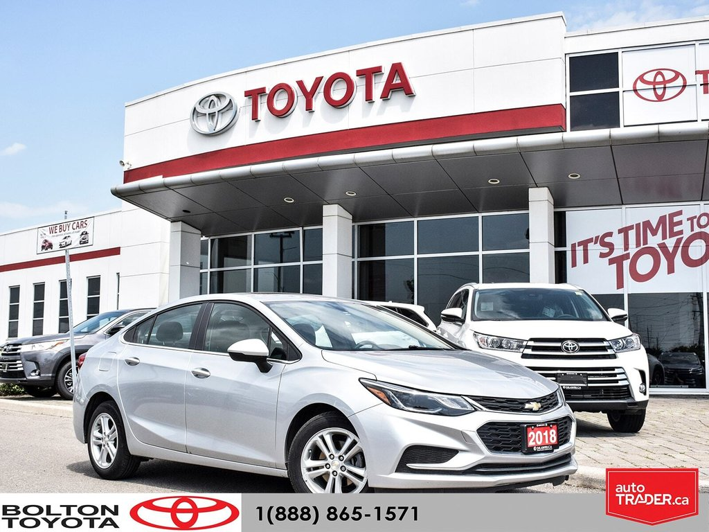 2018 Chevrolet Cruze LT - 6AT in Bolton, Ontario - 1 - w1024h768px