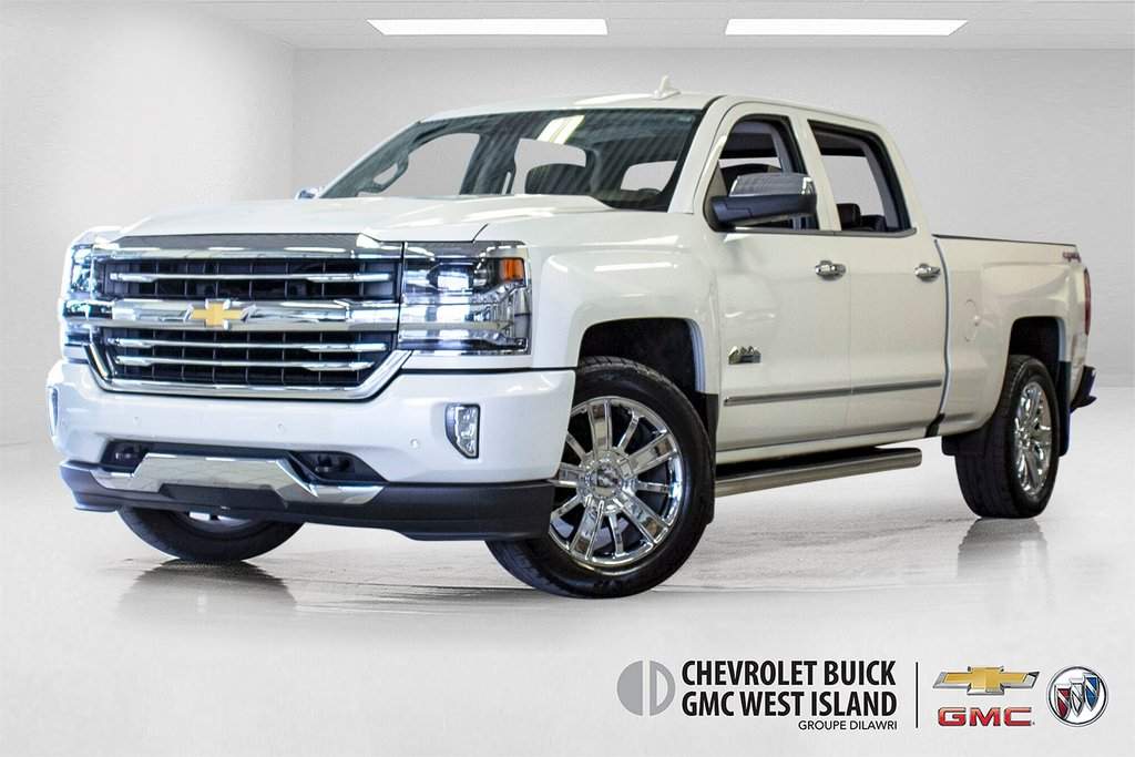 2016 Chevrolet Silverado 1500 High Country **CUIR ** TOIT ** GPS **CAMERA ** in Dollard-des-Ormeaux, Quebec - 1 - w1024h768px