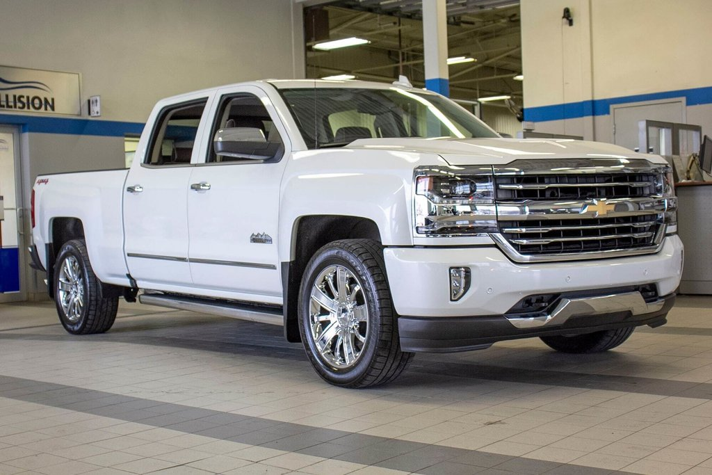 2016 Chevrolet Silverado 1500 High Country **CUIR ** TOIT ** GPS **CAMERA ** in Dollard-des-Ormeaux, Quebec - 4 - w1024h768px