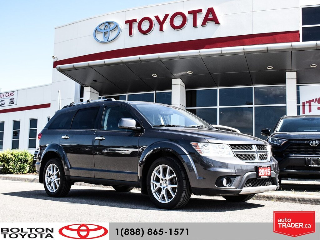 2015 Dodge Journey R/T AWD in Bolton, Ontario - 1 - w1024h768px
