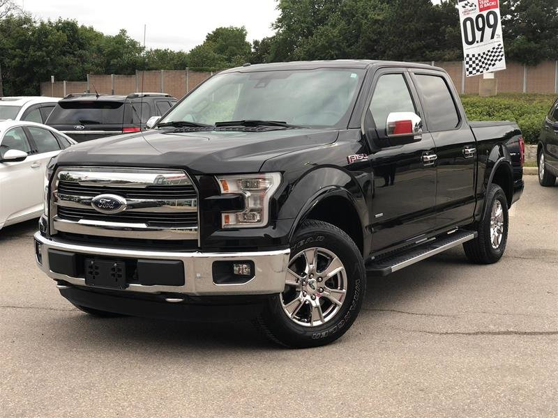 2016 Ford F150 4x4 - Supercrew Lariat - 145 WB in Mississauga, Ontario - 2 - w1024h768px