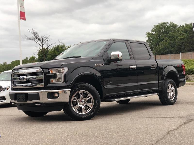 2016 Ford F150 4x4 - Supercrew Lariat - 145 WB in Mississauga, Ontario - 1 - w1024h768px