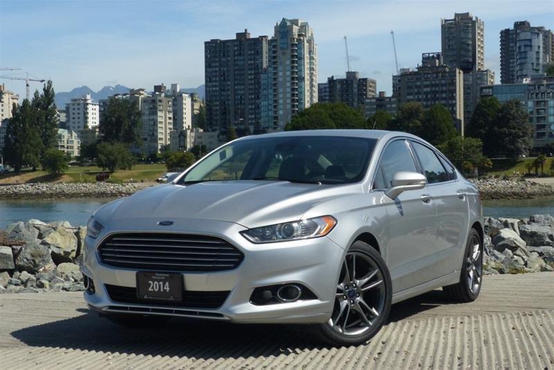 Audi Downtown Vancouver | 2014 Ford Fusion Titanium | #A1086A
