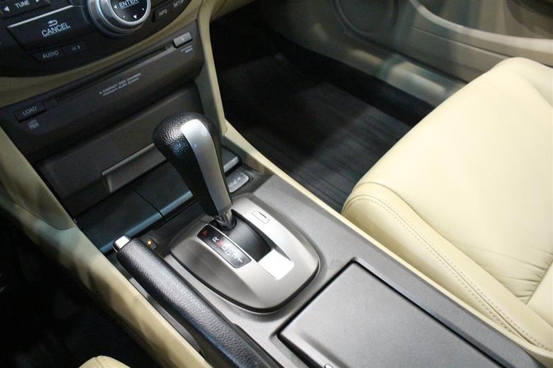 2008 Honda Accord Cpe EX-L Navi at in Regina, Saskatchewan - 4 - w1024h768px
