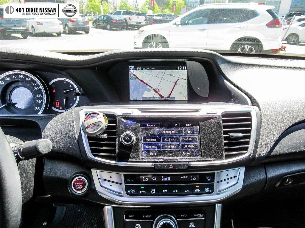 2015 Honda Accord Sedan L4 Touring CVT in Mississauga, Ontario - 18 - w1024h768px