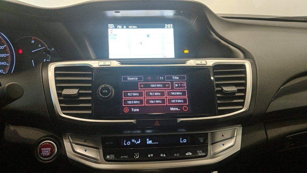 2015 Honda Accord Cpe EX-L V6 Navi at in Regina, Saskatchewan - 6 - w1024h768px