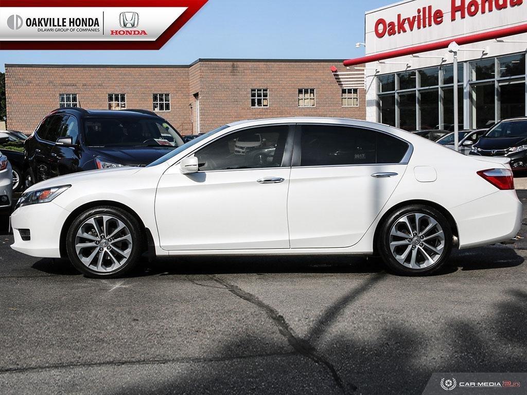 2015 Honda Accord Sedan L4 Sport CVT in Oakville, Ontario - 3 - w1024h768px