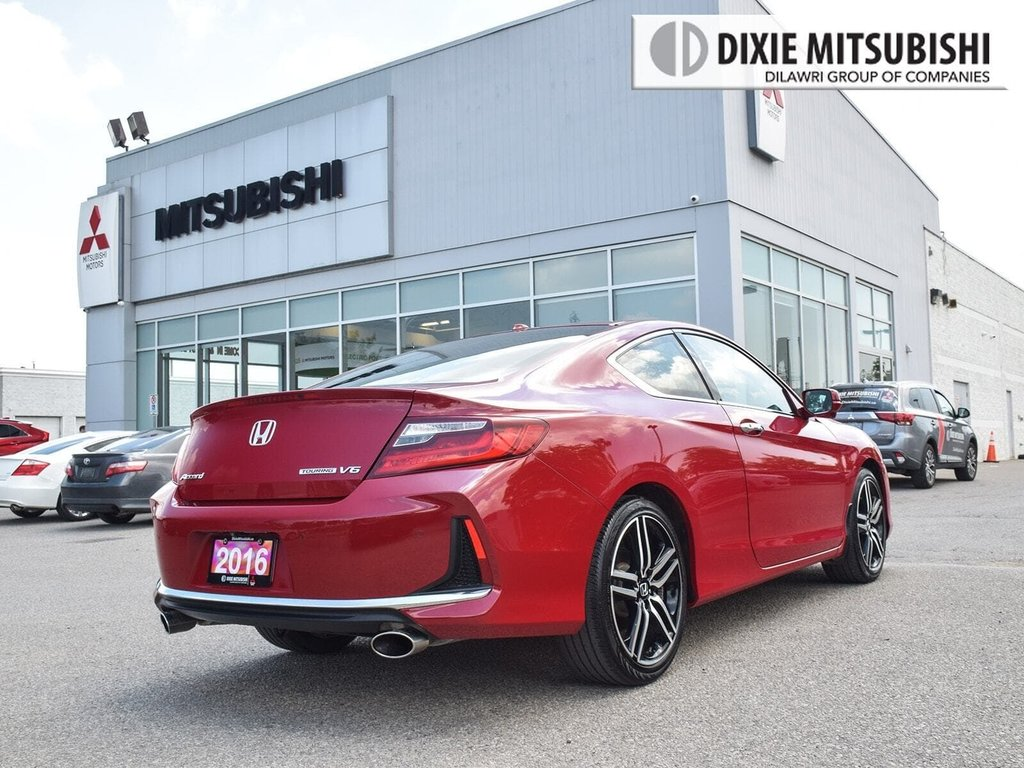 2016 Honda Accord Coupe V6 Touring 6AT in Mississauga, Ontario - 5 - w1024h768px