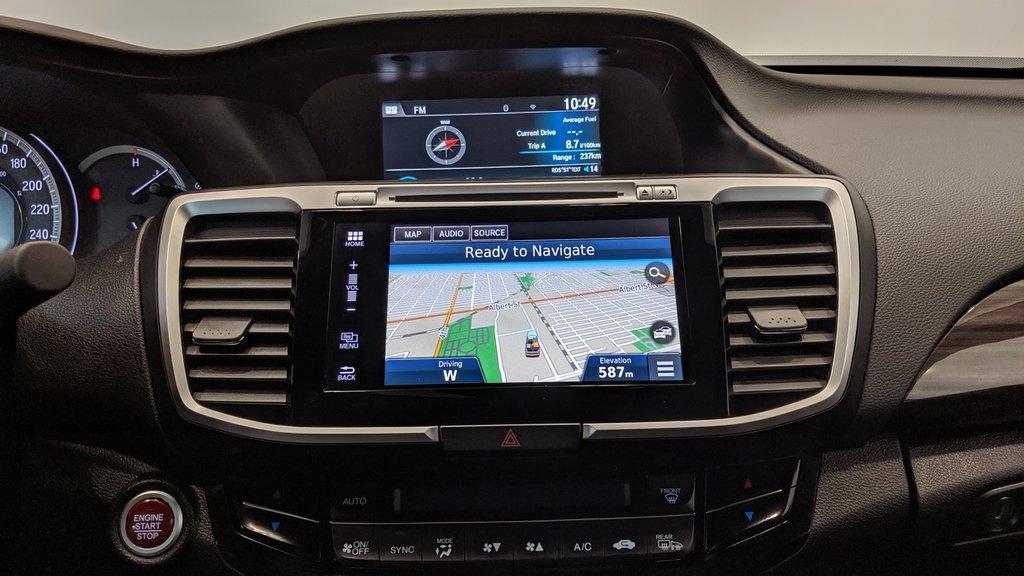 2016 Honda Accord Sedan L4 Touring CVT in Regina, Saskatchewan - 9 - w1024h768px