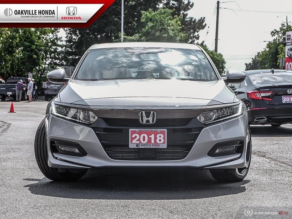2018 Honda Accord Sedan 1.5T Sport-HS CVT in Oakville, Ontario - 2 - w1024h768px