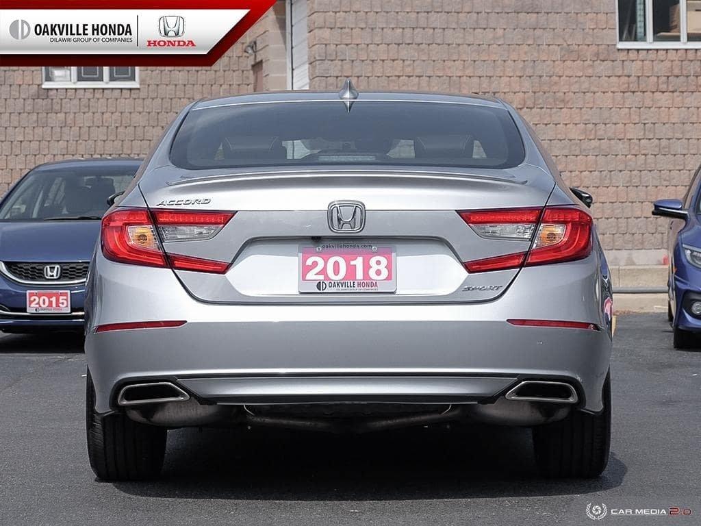 2018 Honda Accord Sedan 1.5T Sport-HS CVT in Oakville, Ontario - 5 - w1024h768px