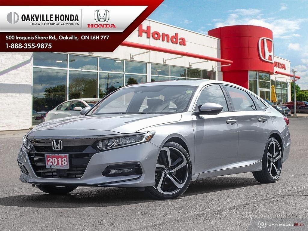 2018 Honda Accord Sedan 1.5T Sport-HS CVT in Oakville, Ontario - 1 - w1024h768px