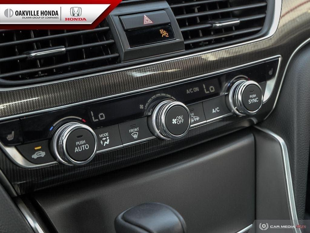 2018 Honda Accord Sedan 1.5T Sport-HS CVT in Oakville, Ontario - 20 - w1024h768px
