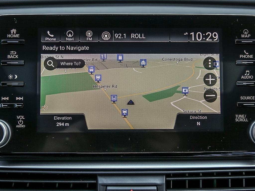 2019 Honda Accord Sedan Touring CVT in Mississauga, Ontario - 18 - w1024h768px