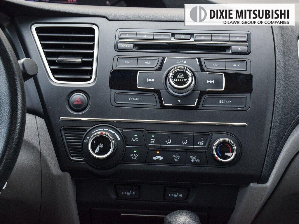 2014 Honda Civic Sedan LX CVT in Mississauga, Ontario - 17 - w1024h768px