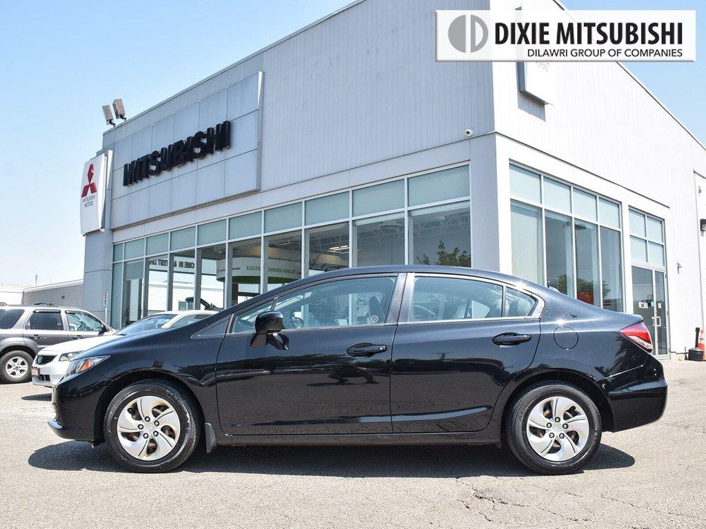 2014 Honda Civic Sedan LX CVT in Mississauga, Ontario - 4 - w1024h768px