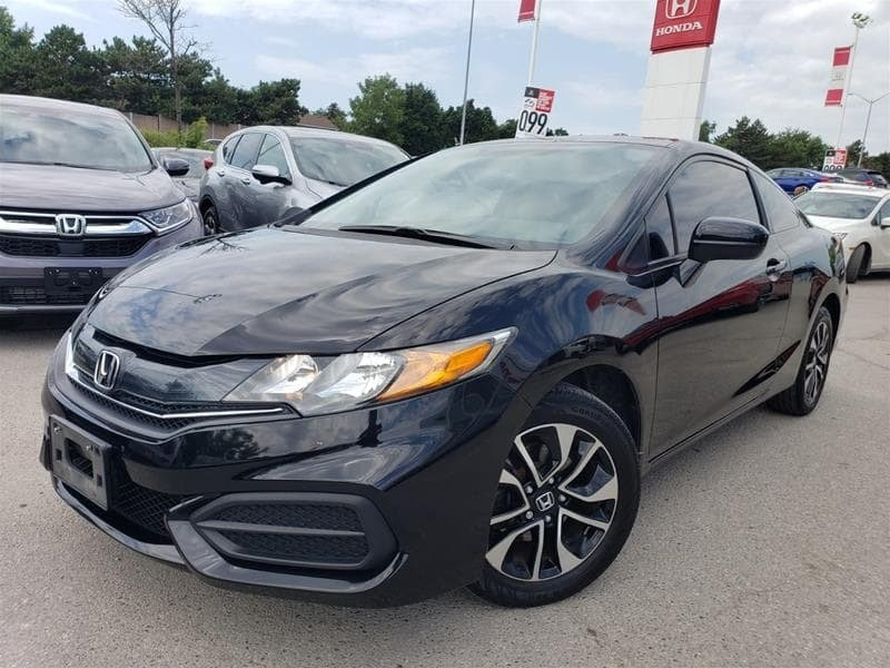 2014 Honda Civic Coupe EX CVT in Mississauga, Ontario - 14 - w1024h768px