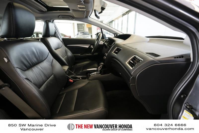2014 Honda Civic Sedan Touring CVT in Vancouver, British Columbia - 17 - w1024h768px