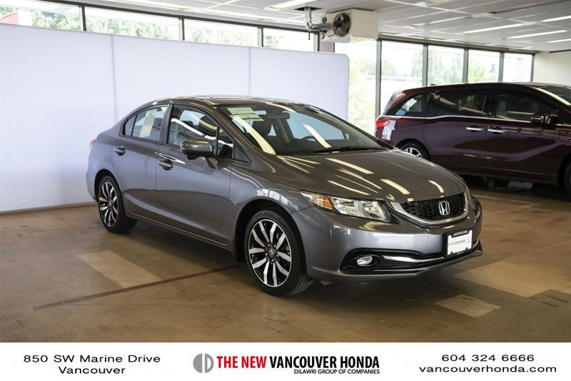 2014 Honda Civic Sedan Touring CVT in Vancouver, British Columbia - 2 - w1024h768px