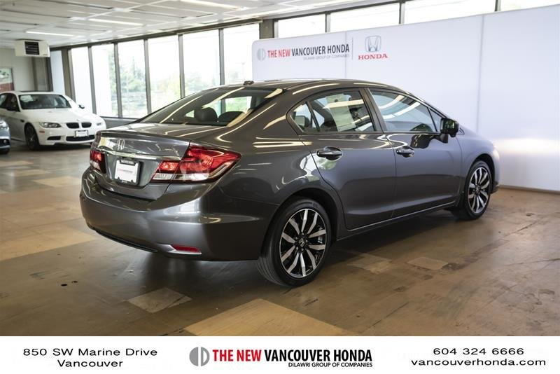 2014 Honda Civic Sedan Touring CVT in Vancouver, British Columbia - 5 - w1024h768px