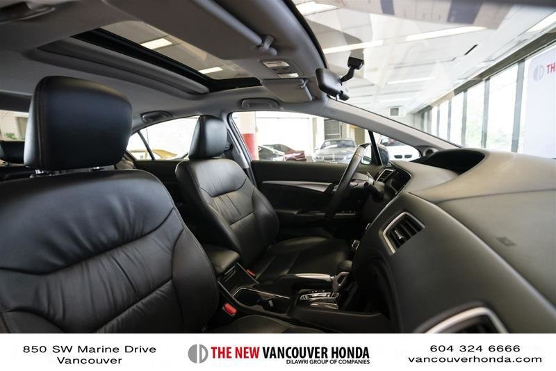 2014 Honda Civic Sedan Touring CVT in Vancouver, British Columbia - 38 - w1024h768px
