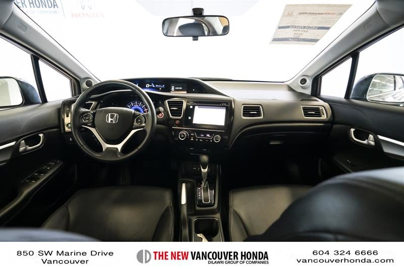 2014 Honda Civic Sedan Touring CVT in Vancouver, British Columbia - 13 - w1024h768px
