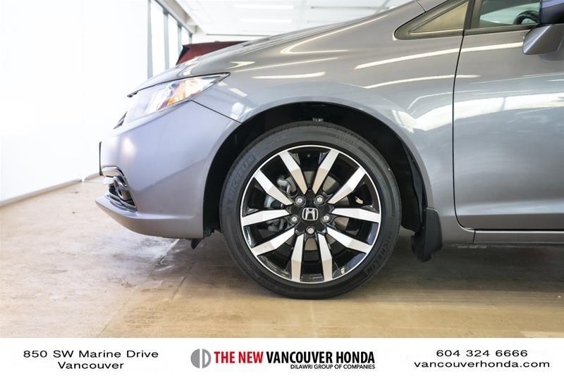 2014 Honda Civic Sedan Touring CVT in Vancouver, British Columbia - 9 - w1024h768px