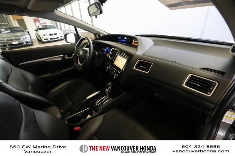 2014 Honda Civic Sedan Touring CVT in Vancouver, British Columbia - 15 - w1024h768px