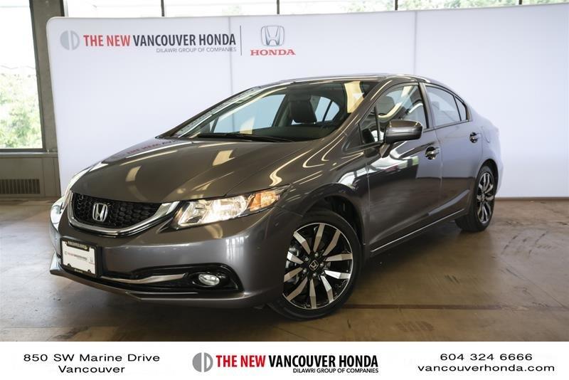 2014 Honda Civic Sedan Touring CVT in Vancouver, British Columbia - 1 - w1024h768px