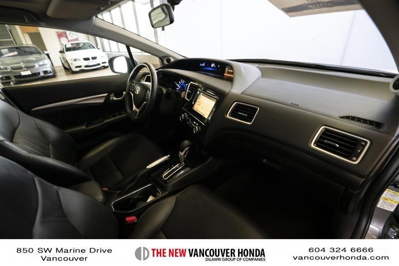 2014 Honda Civic Sedan Touring CVT in Vancouver, British Columbia - 37 - w1024h768px