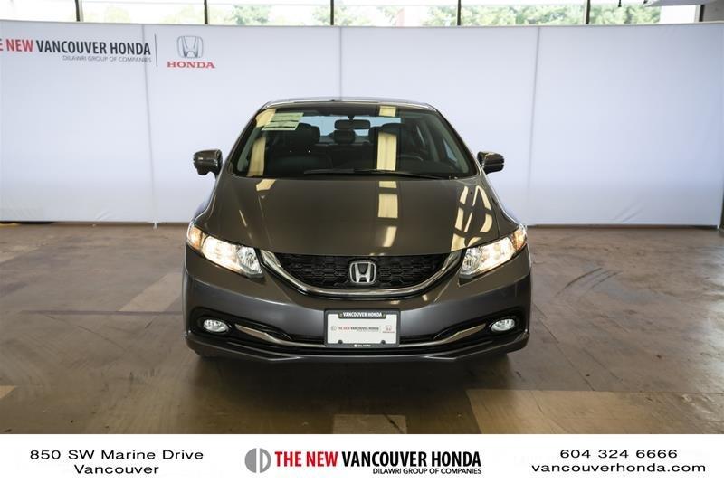2014 Honda Civic Sedan Touring CVT in Vancouver, British Columbia - 3 - w1024h768px
