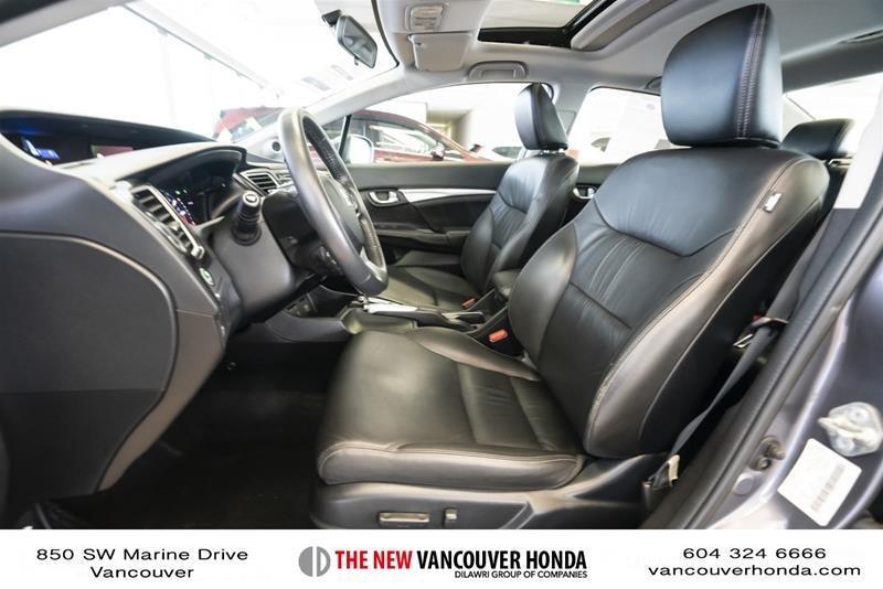 2014 Honda Civic Sedan Touring CVT in Vancouver, British Columbia - 32 - w1024h768px