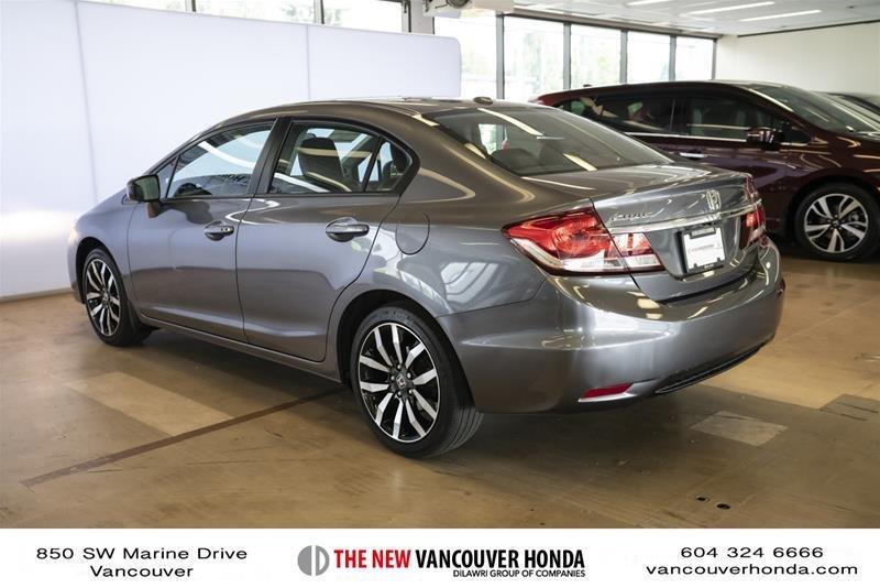 2014 Honda Civic Sedan Touring CVT in Vancouver, British Columbia - 29 - w1024h768px