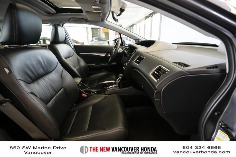 2014 Honda Civic Sedan Touring CVT in Vancouver, British Columbia - 39 - w1024h768px