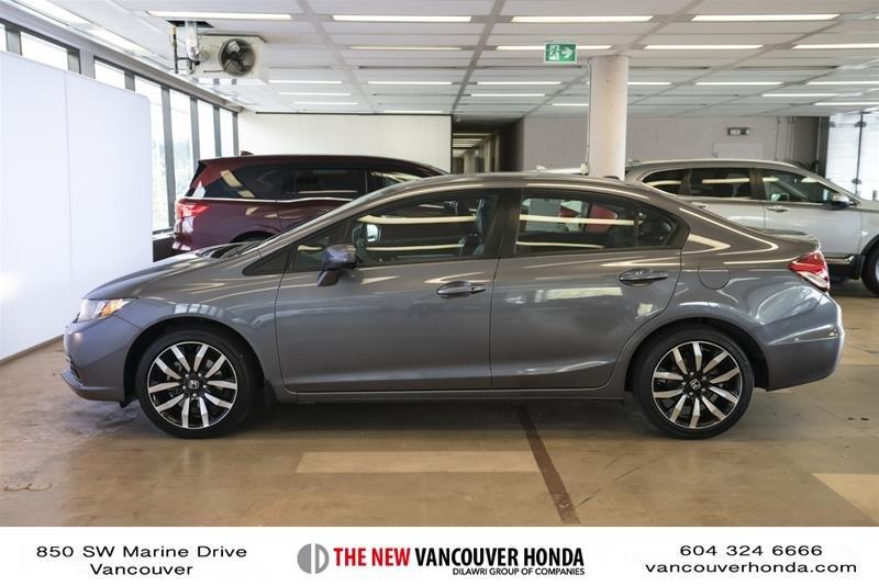 2014 Honda Civic Sedan Touring CVT in Vancouver, British Columbia - 8 - w1024h768px