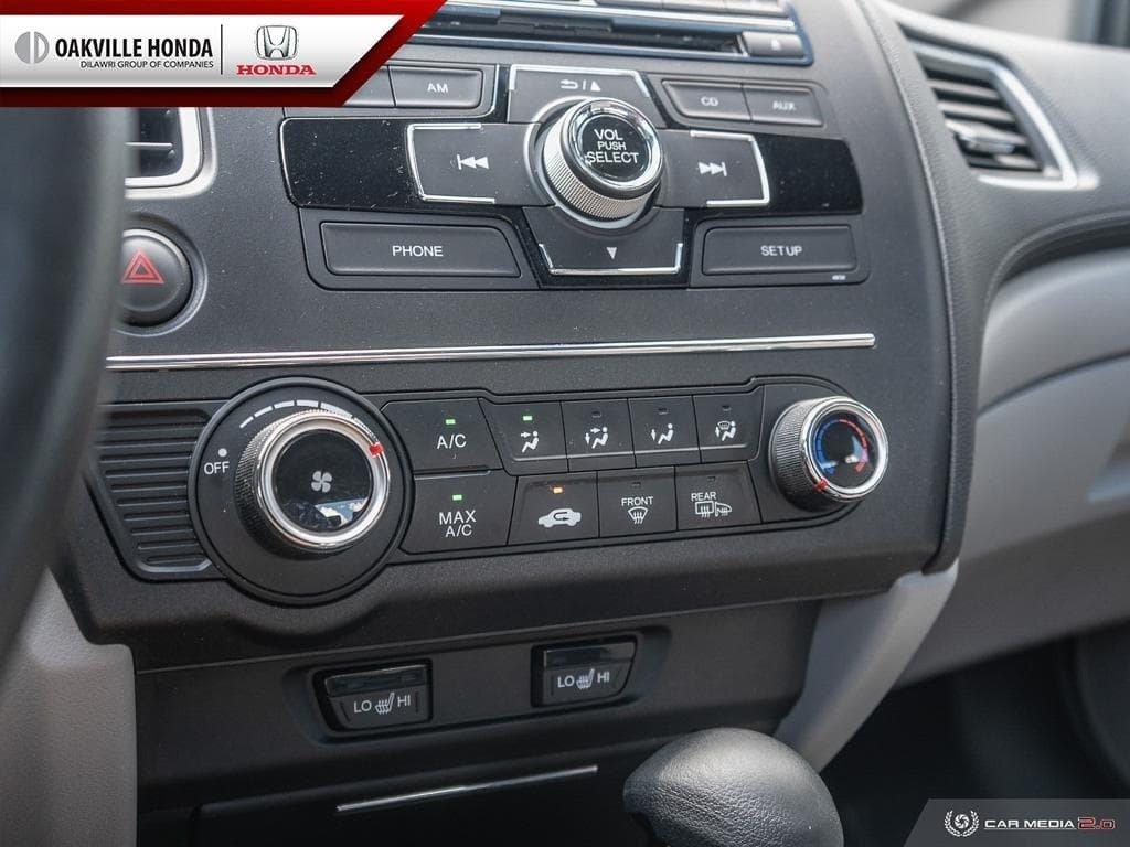 2014 Honda Civic Sedan LX CVT in Oakville, Ontario - 19 - w1024h768px