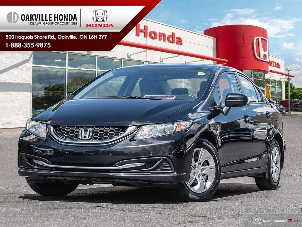 2014 Honda Civic Sedan LX CVT in Oakville, Ontario - 1 - w1024h768px
