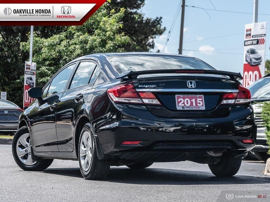 2014 Honda Civic Sedan LX CVT in Oakville, Ontario - 4 - w1024h768px