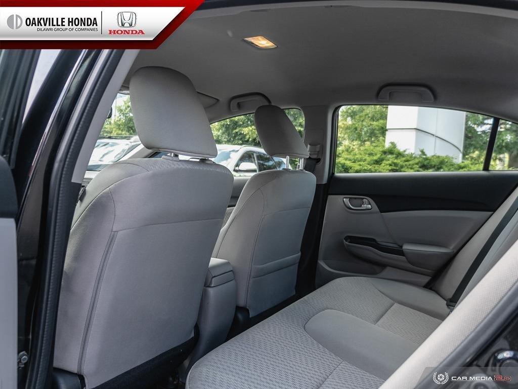 2014 Honda Civic Sedan LX CVT in Oakville, Ontario - 23 - w1024h768px