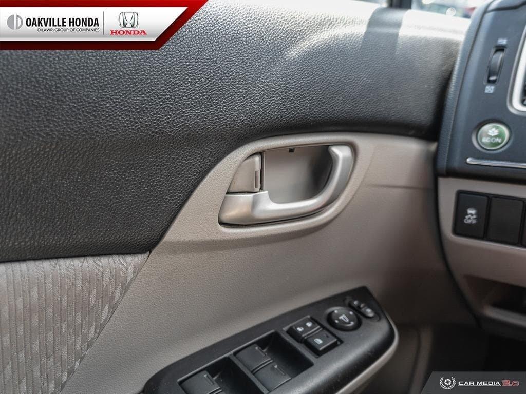 2014 Honda Civic Sedan LX CVT in Oakville, Ontario - 16 - w1024h768px