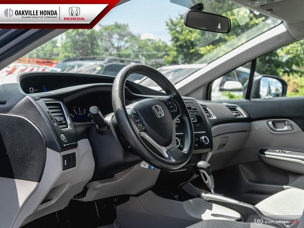 2014 Honda Civic Sedan LX CVT in Oakville, Ontario - 12 - w1024h768px