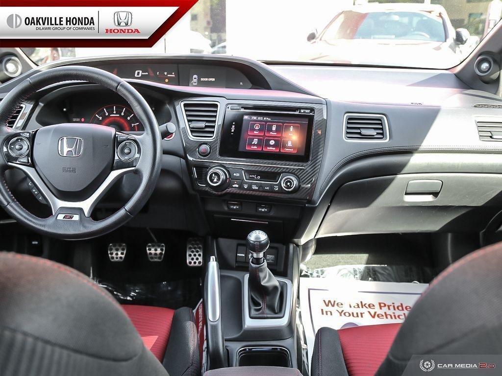 2014 Honda Civic Sedan SI 6MT in Oakville, Ontario - 25 - w1024h768px